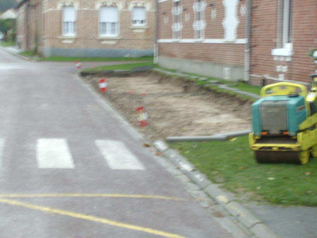 Création d'un Parking